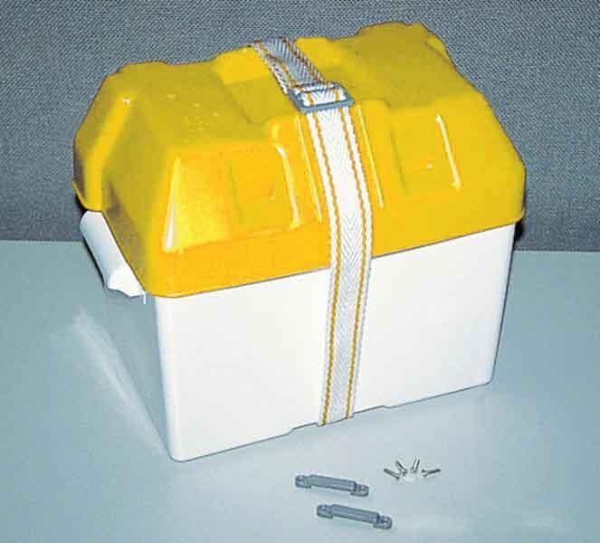 Batteriekasten Batteriebehälter universal