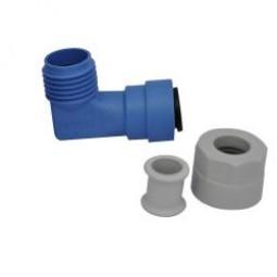 Winkelanschluss (John Guest System) 12 mm für Trumatic C alle Modelle