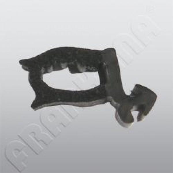 Ersatzteile für HEKI 1 - Glasrahmen ohne Anbauteile grau