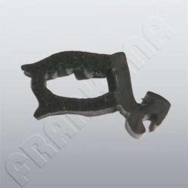 Ersatzteile für HEKI 1 - Griff mit Klappgestänge grau