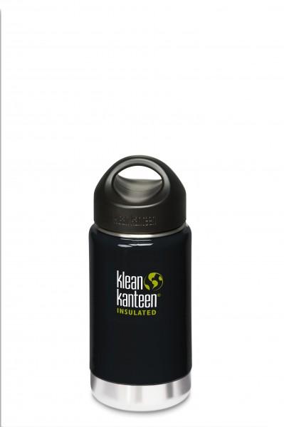 Klean Kanteen Flasche 'Insulated' schwarz, 0,355 L