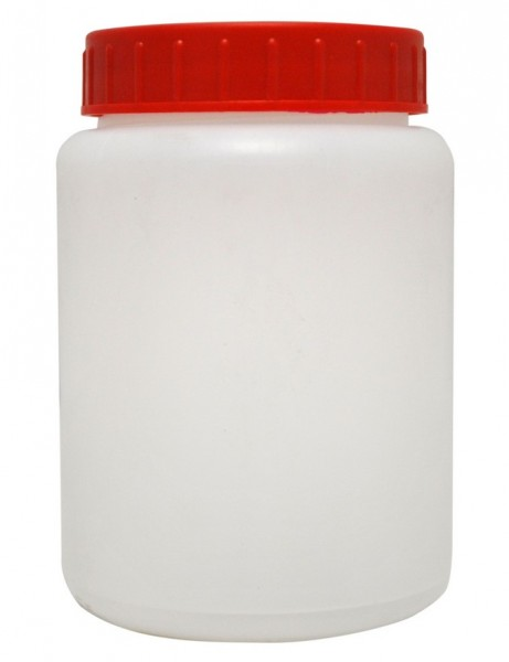Weithalsflasche eckig 500 ml