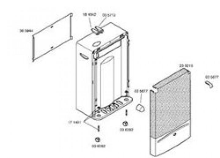 Ersatzteile für Katalytofen 5000 / LP 3200 S / Infrarotofen - Drucktaste links für 310/038 und 310/0