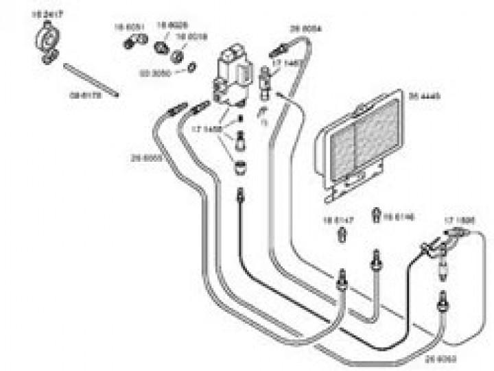 Ersatzteile für Katalytofen 5000 / LP 3200 S / Infrarotofen - Brenner für 310/045