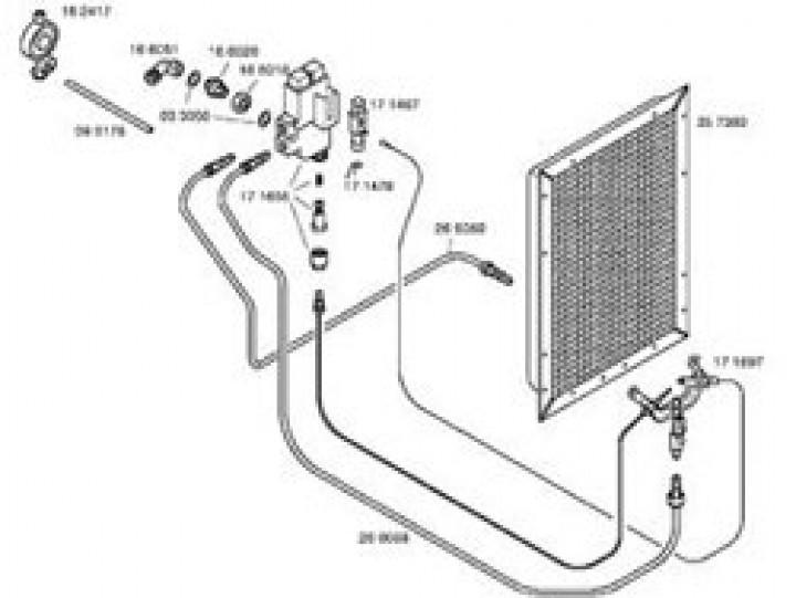Ersatzteile für Katalytofen 5000 / LP 3200 S / Infrarotofen - Drucktaste links für 310/044