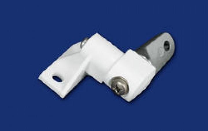 Ersatzteile F 65 - Frontblendenverschluss links weiß