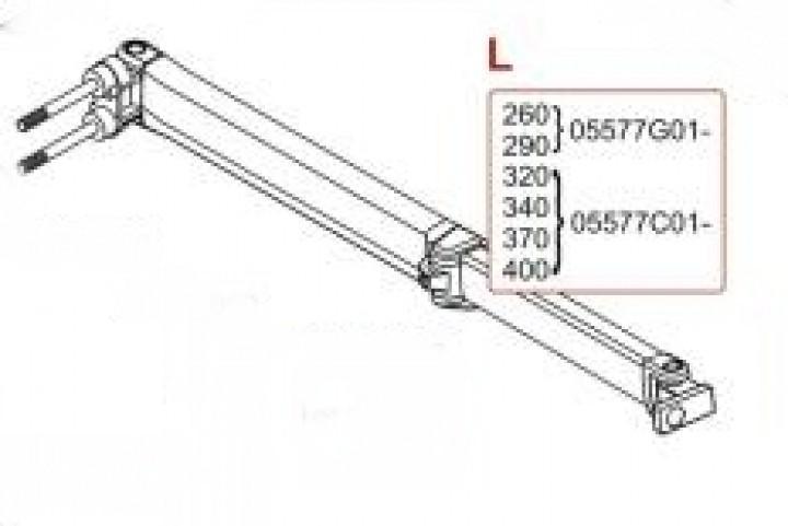 Ersatzteile F 65 - Gelenkarm F65 320-490 links
