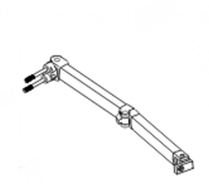 Ersatzteile Fiamma F50 Pro / F55 Pro - Gelenkarm links 3,0-5,5 m