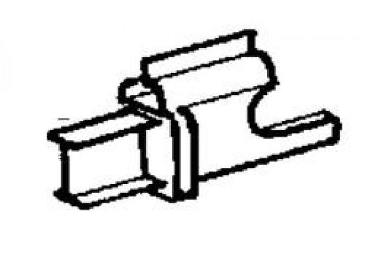 Ersatzteile für Rastrollo 2000 - Fliegengaze - Rollostoff genäht mit Keder