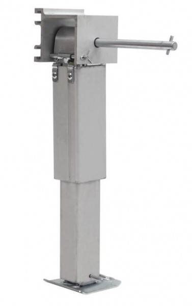 Teleskopierbare Alu-Stütze für Reisemobile