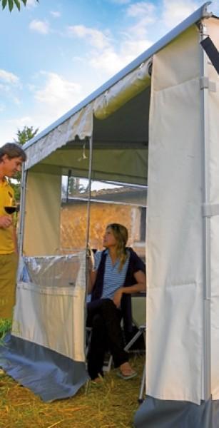 Safari-Vorderteil 1,85m für Markisenlänge 3,75m