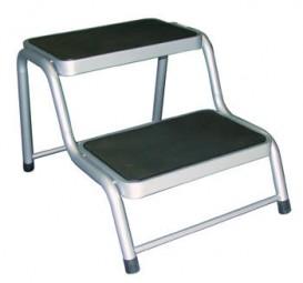 Doppeltrittstufe aus Stahl