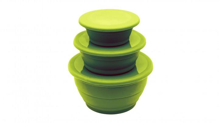 Outwell Schüsselset 'Collaps' 3 Schüsseln, grün