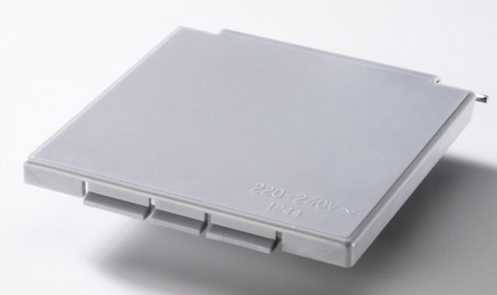 Ersatzdeckel weiß Deckel für Vorzeltsteckdose