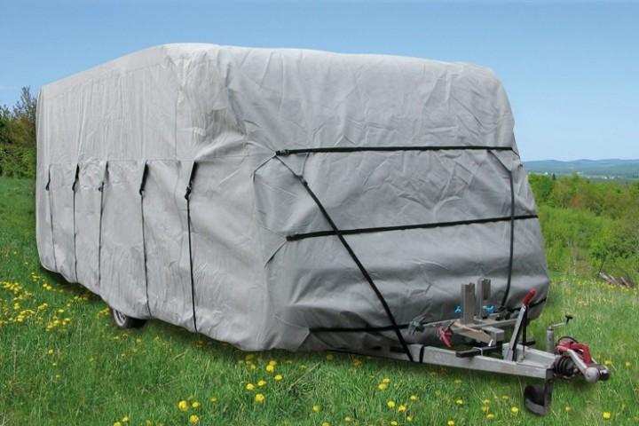 Wohnwagen-Schutzhülle 500-550 x 250 x 220 cm