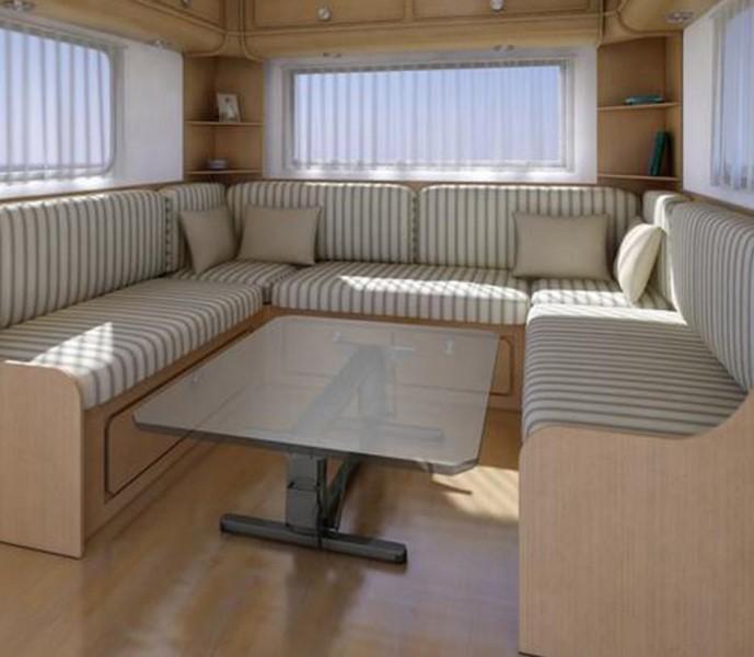 Hubtischgestell braun Säulenabstand 75 cm (außen)
