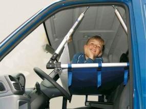 EuroCarry Kinderbett für Fahrerhaus Fiat Ducato, Peugeot Boxer, Citroen Jumper.