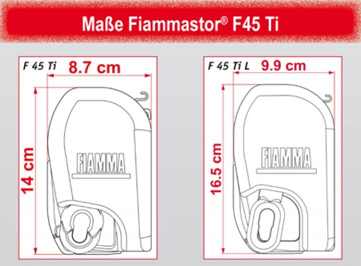 Fiammastore Polarweiß F45 L 550 Blue Ocean