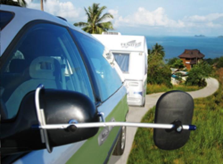 Oppi Aufsteckspiegel Volvo XC 60 mit Wagenbeleuchtung