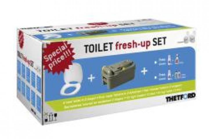 Toilet fresh up Set Fresh up für C 250