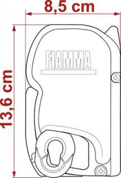 Fiamma Markise F 45 S 400 Titanium Blue Ocean