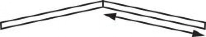 Sonnendach Kombi Gr. 8 Umlauf 775-800 cm