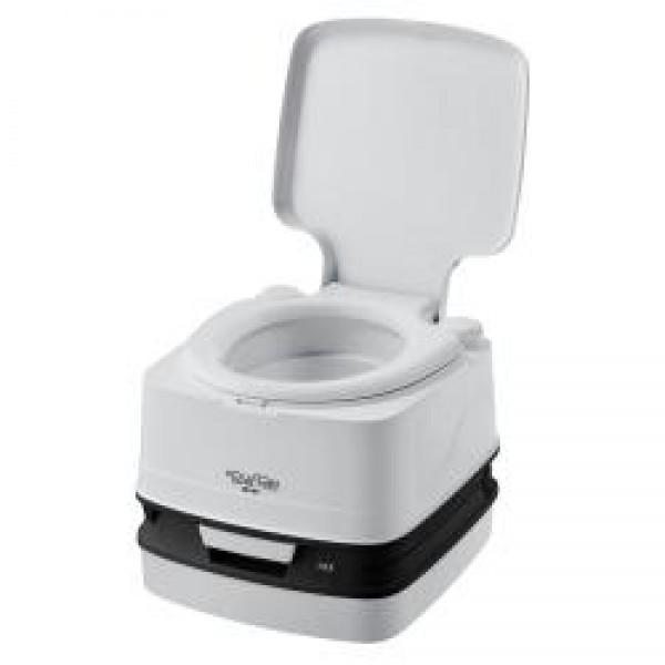 Porta Potti die tragbare Frischwassertoilette Qube 145 grau