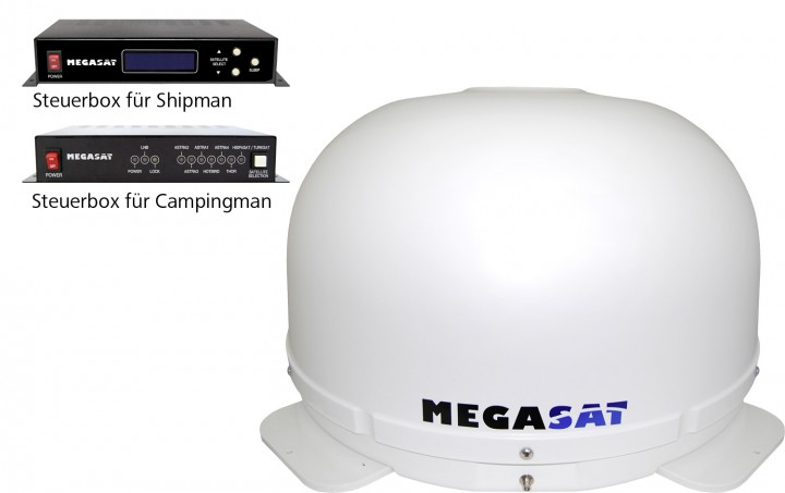Sat-Anlage Megasat Campingman Shipman