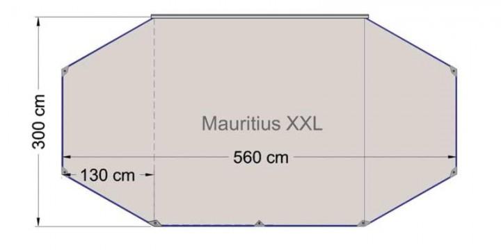 Reimo Sonnenvordach Mauritius XXL