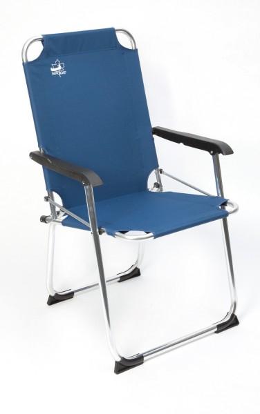 alu camping klappstuhl blau online kaufen. Black Bedroom Furniture Sets. Home Design Ideas