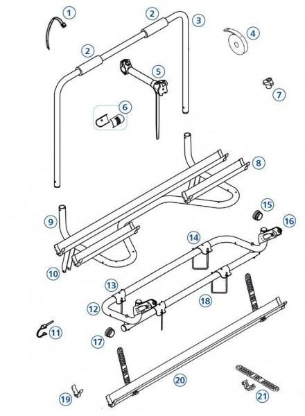 Messing-Splint Caravan Comfort