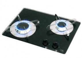 Can Kocher 2-flammig 380x280 mm