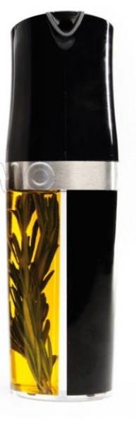 Essig- und Ölspender schwarz