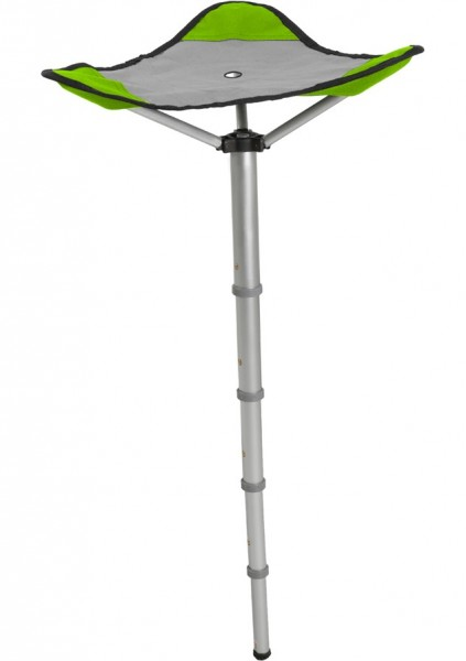 Brunner Taschensitz Outdoorhocker SIT2GO grau lime grün