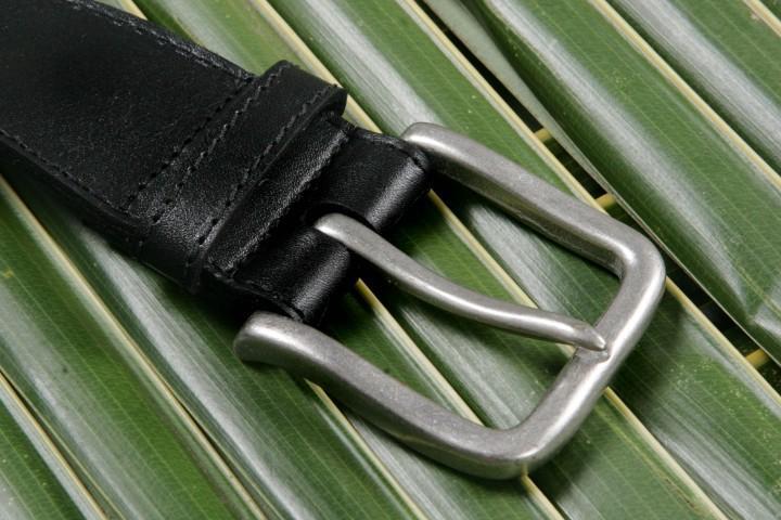 Leathersafe Geldgürtel 'Shine', schwarz 80 cm