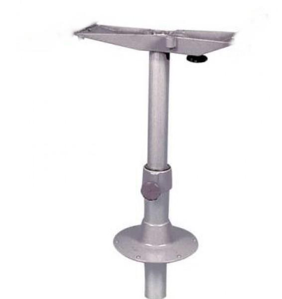 Einlaß-Tischfuß Alu Höhenverstellung