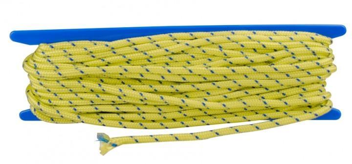 Abspannleine Zeltpsannleine 6 mm neongelb 20 m