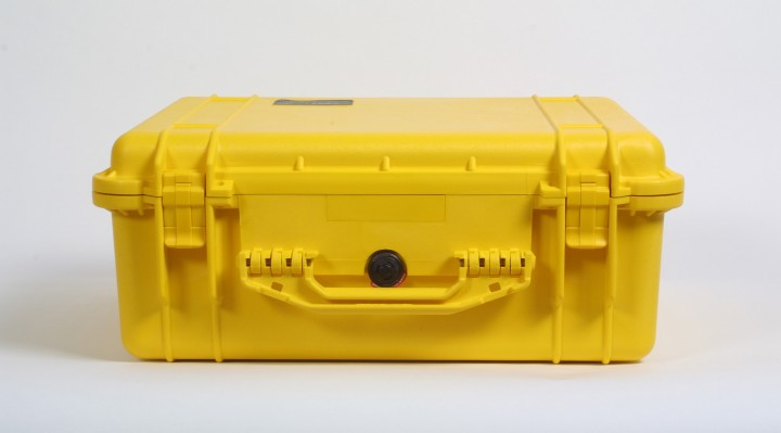 Pelibox 1550 gelb mit Schaumeinsatz