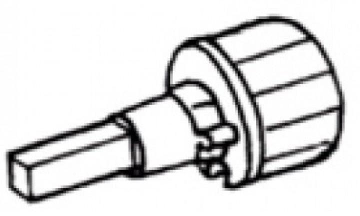 Tuchrollenendkappe links Omnistor 6002