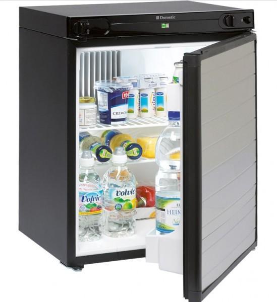 Absorberkühlschrank CombiCool RF-60 Schwarz/Alu 50mbar