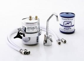 Untertisch-Filter Seagull® IV 4000 Edelstahl mit Armatur