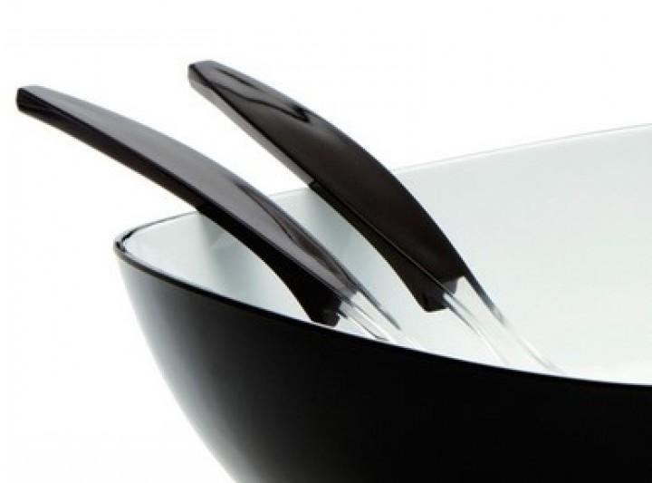 Gimex Salatbesteck schwarz