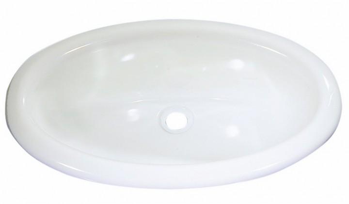 Einlegemulde oval weiß