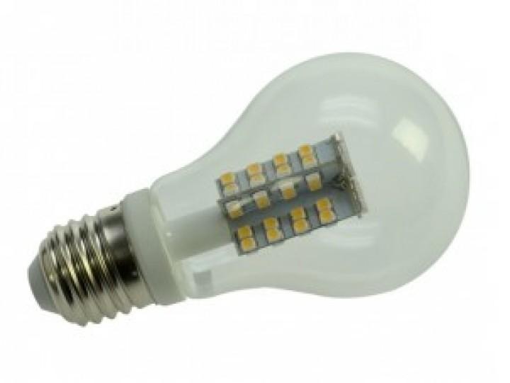 76 SMD LED Kugelbirne E27 230 Volt