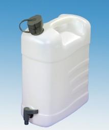 Wasserkanister mit Ausgießtülle 15 Liter mit Hahn
