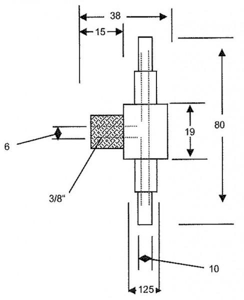T-Anschluss für Druckausgleichsbehälter