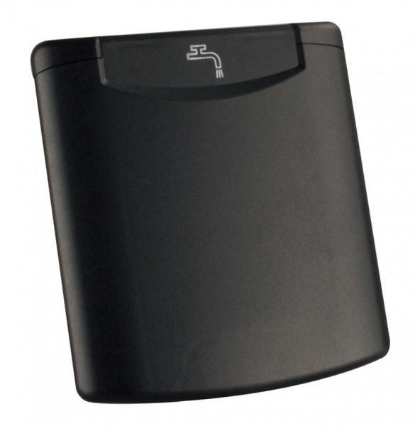 Wasser-Steckdose City-Wasseranschluss schwarz