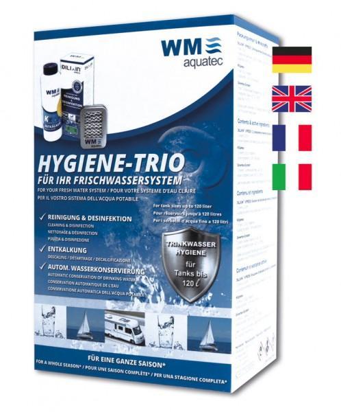 Trinkwasserhygiene Hygiene-Trio bis 40 Liter