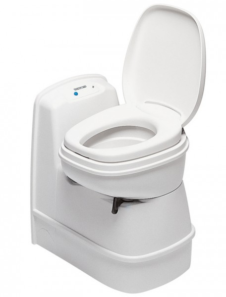 Cassetten Toilette C-200 CS bianco-weiß