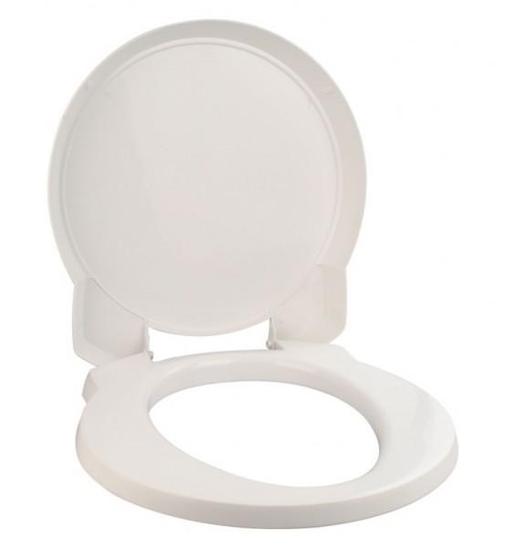 Thetford Toilettensitz mit Deckel weiß